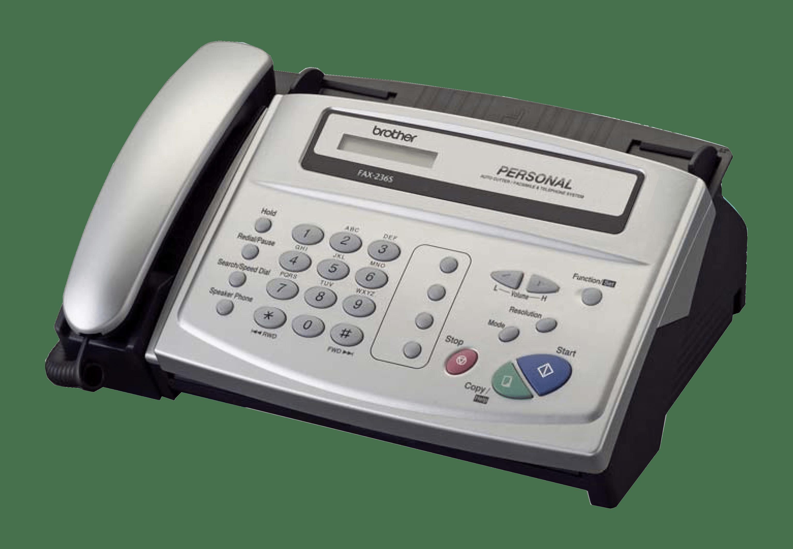 Инструкция brother fax 236s