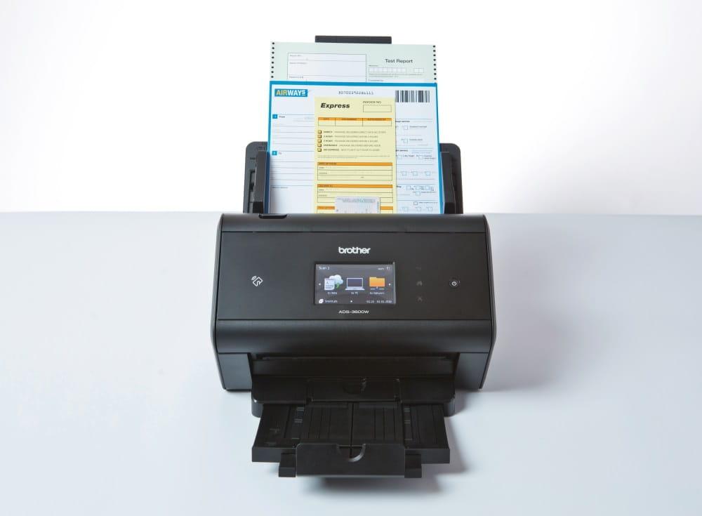 Сетевой сканер Brother ADS-3600W