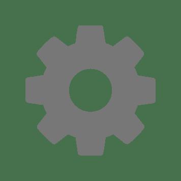 Grey cog icon