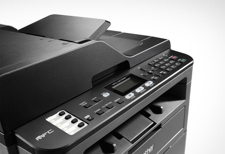 multifunction laser printer left angle