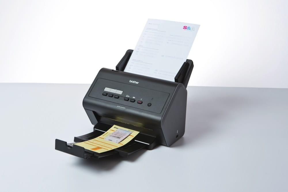Сетевой сканер Brother ADS-2400N