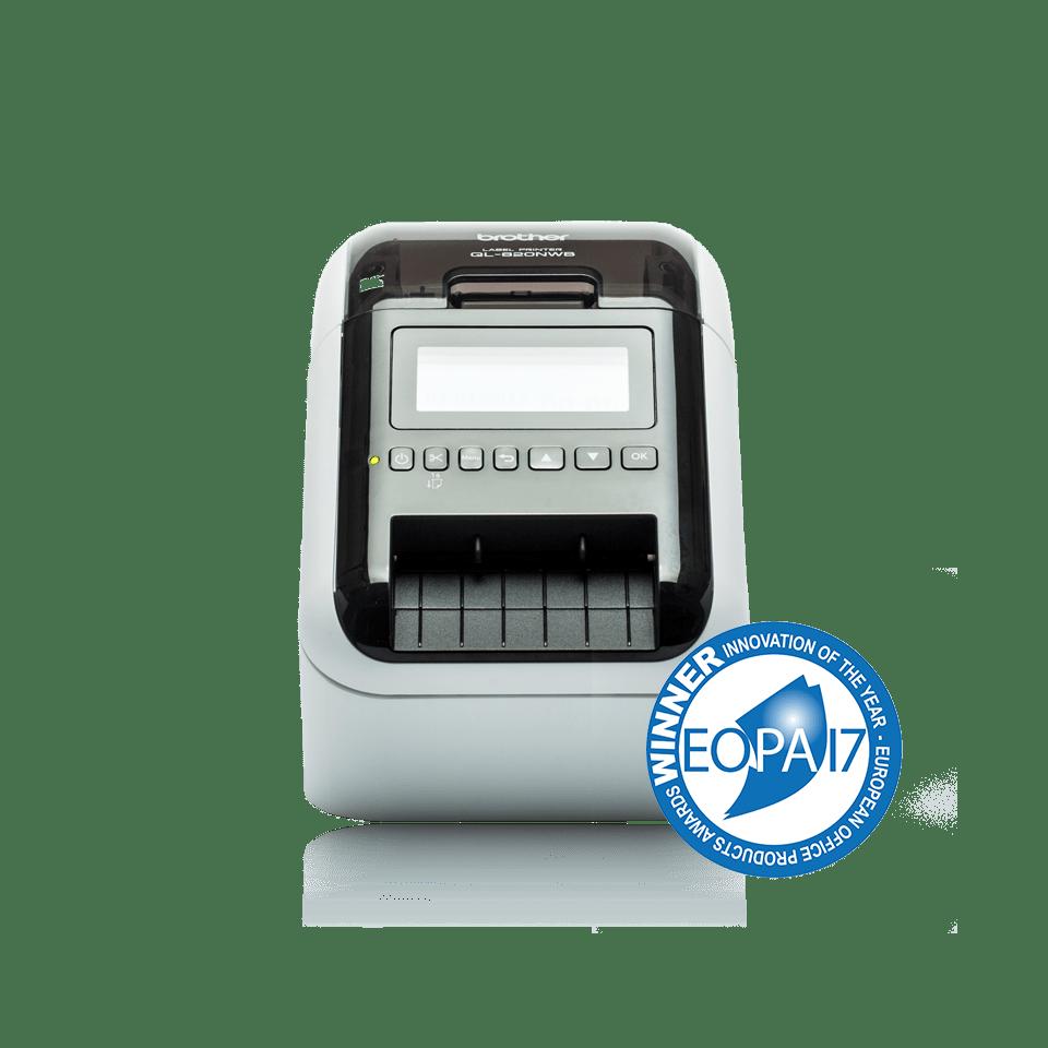 Принтер для печати наклеек QL-820NWB профессиональный 2