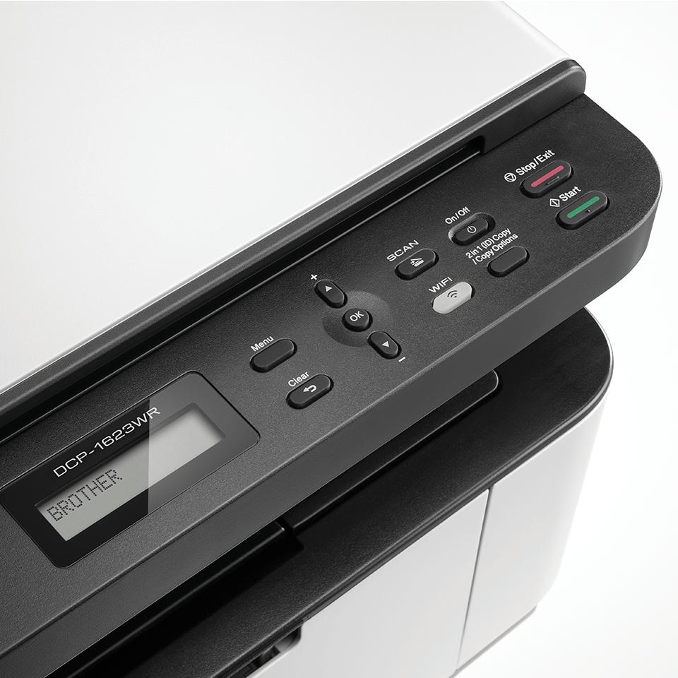 DCP-1623WR Чёрно-белое лазерное МФУ 3 в 1 с возможностью подключения по Wi-Fi 3