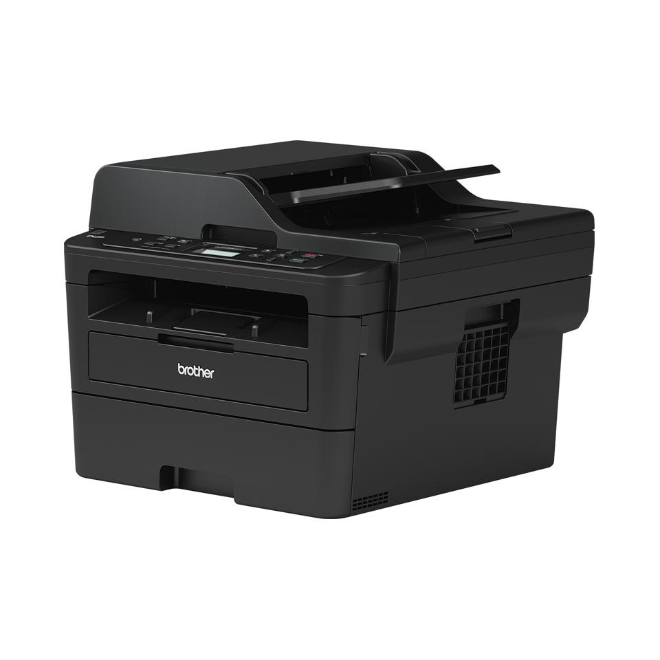 Компактное сетевое черно-белое лазерное МФУ 3 в 1 DCP-L2551DN