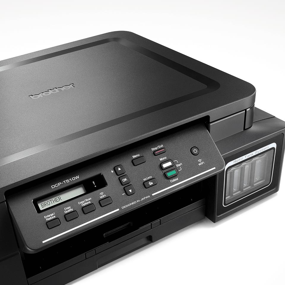 DCP-T510W InkBenefit Plus струйное беспроводное МФУ 3 в 1 от Brother 4