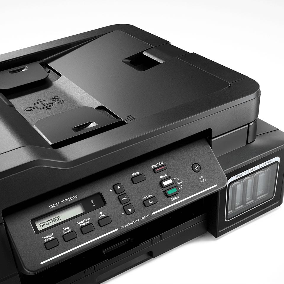 DCP-T710W InkBenefit Plus струйное МФУ 3 в 1 с АПД и Wi-Fi  от Brother 4