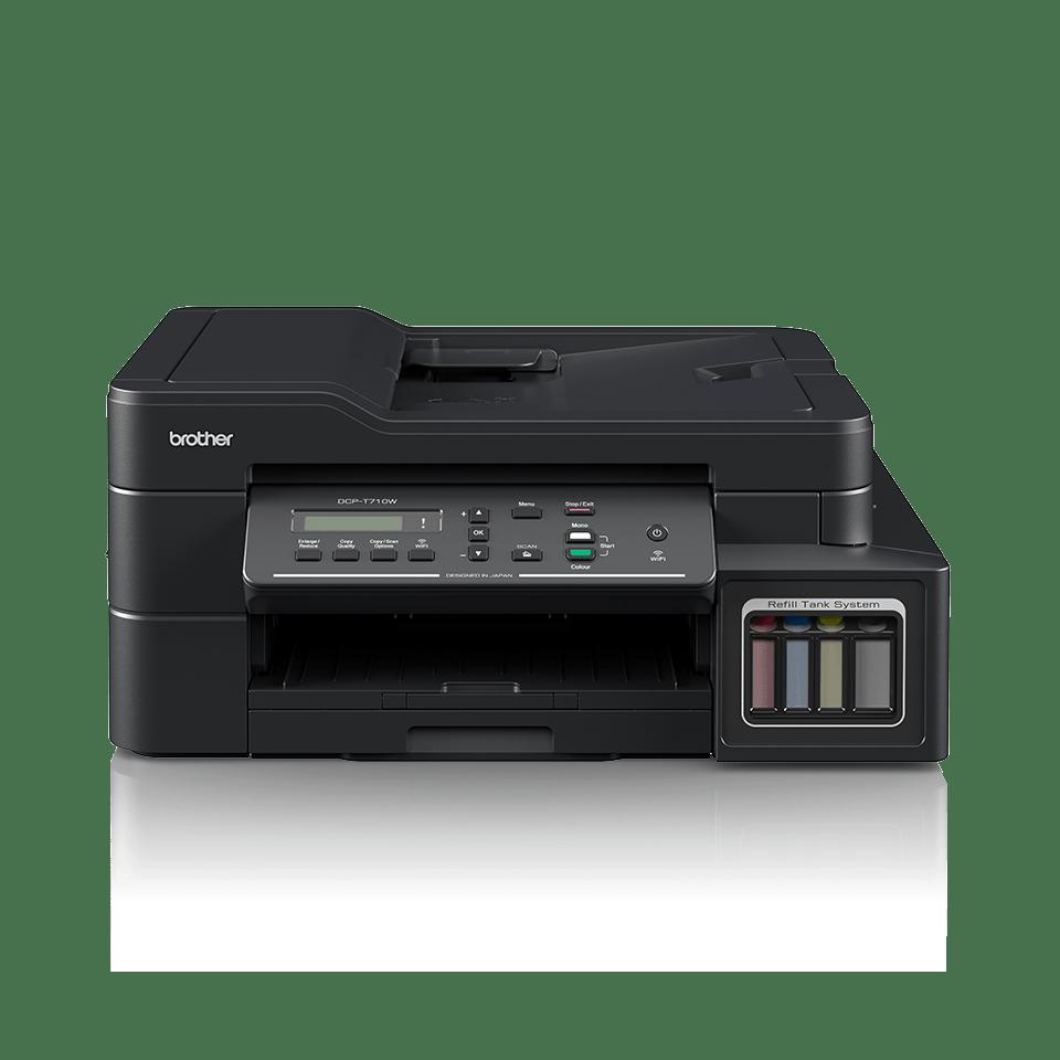 DCP-T710W InkBenefit Plus струйное МФУ 3 в 1 с АПД и Wi-Fi  от Brother