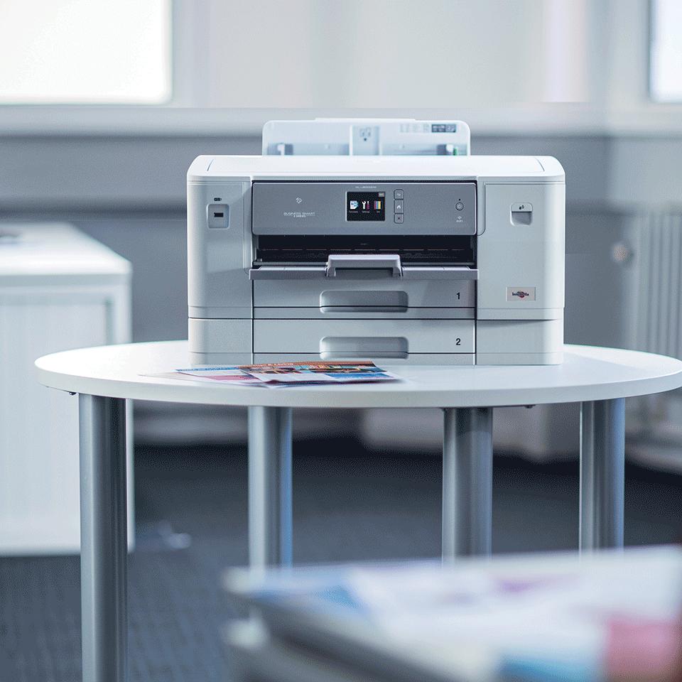 Цветной струйный принтер с поддержкой формата A3 и беспроводным подключением HL-J6000DW 4