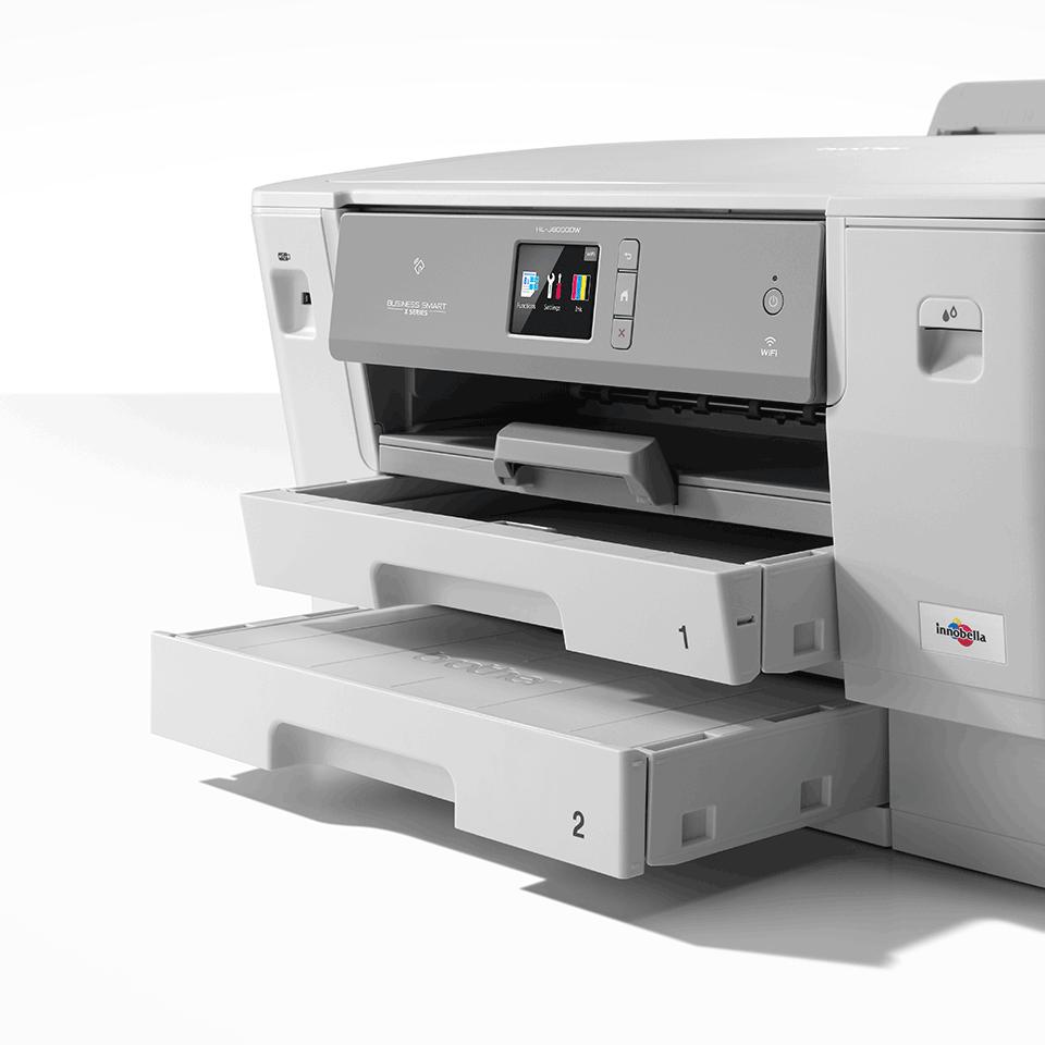 Цветной струйный принтер с поддержкой формата A3 и беспроводным подключением HL-J6000DW 6