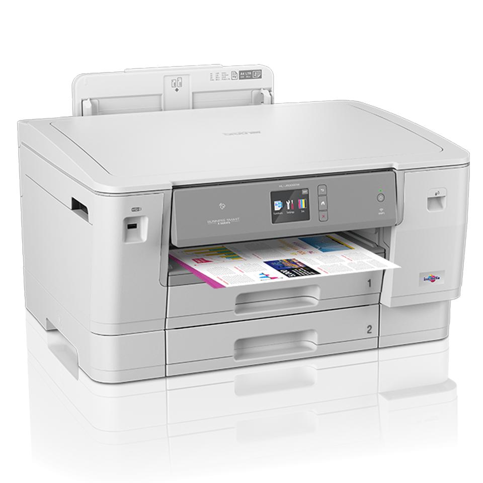 Цветной струйный принтер с поддержкой формата A3 и беспроводным подключением HL-J6000DW 2