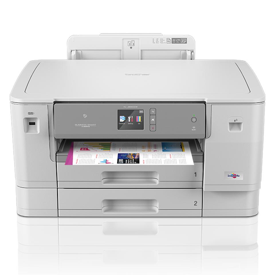 Цветной струйный принтер с поддержкой формата A3 и беспроводным подключением HL-J6000DW