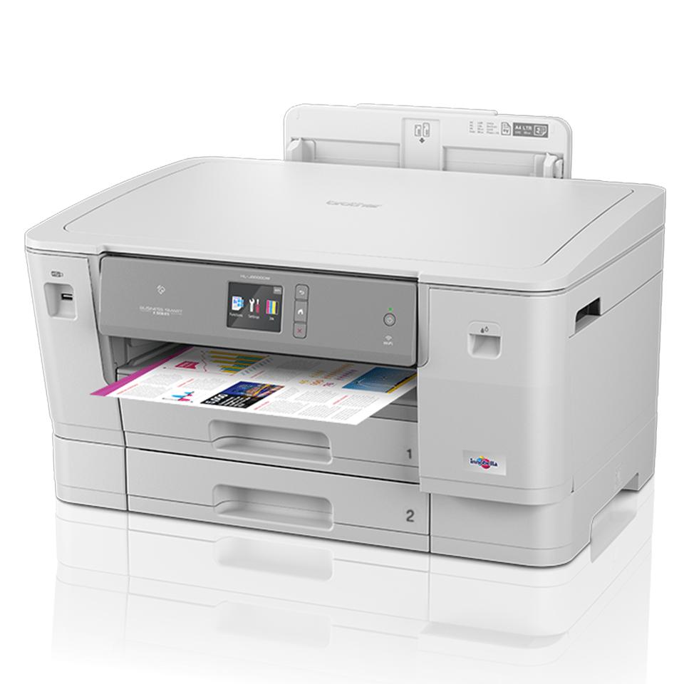 HL-J6000DW Цветной струйный принтер с поддержкой формата A3 и беспроводным подключением 3