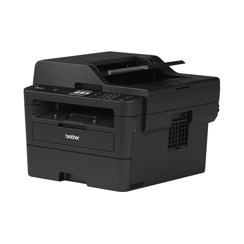Компактное сетевое черно-белое лазерное МФУ 4 в 1 MFC-L2751DW с поддержкой беспроводного подключения