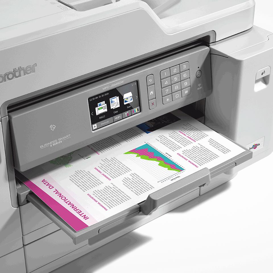 Цветное струйное МФУ 4 в 1 с поддержкой формата A3 и беспроводным подключением MFC-J5945DW 5