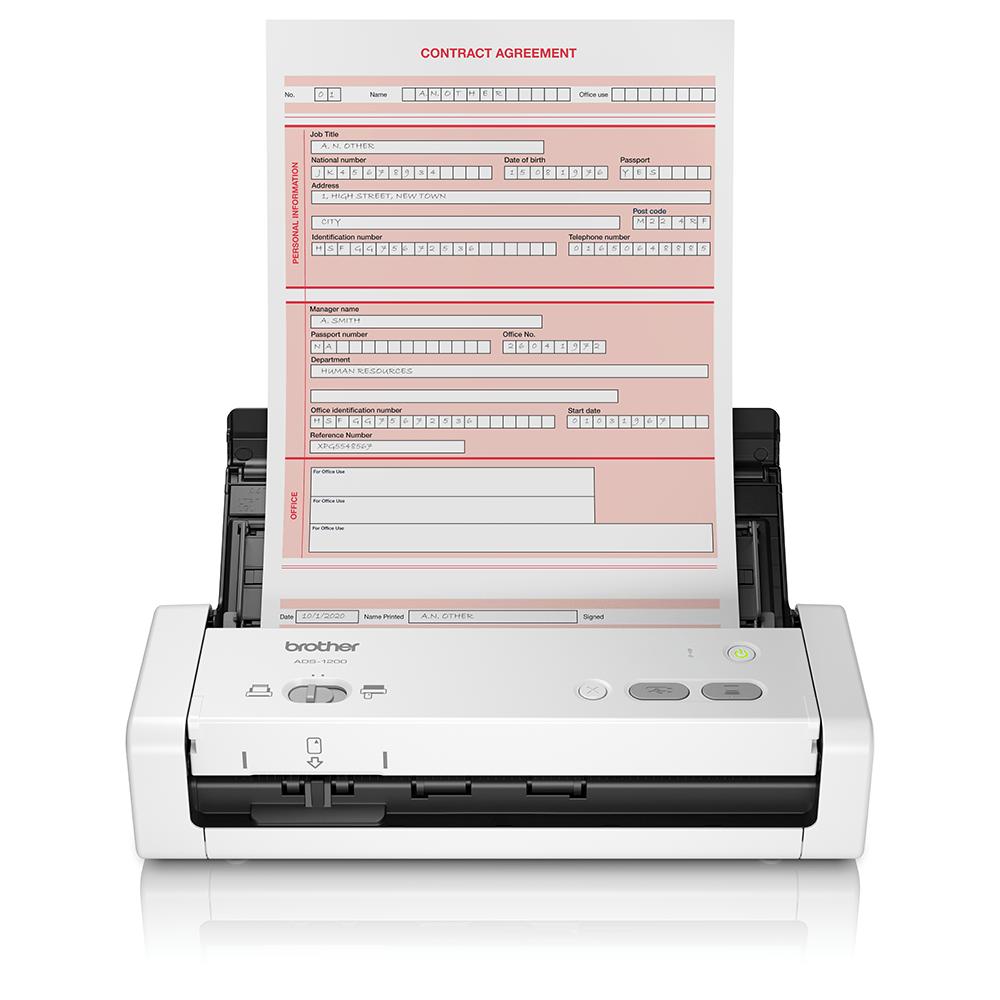 Компактный сканер документов ADS-1200