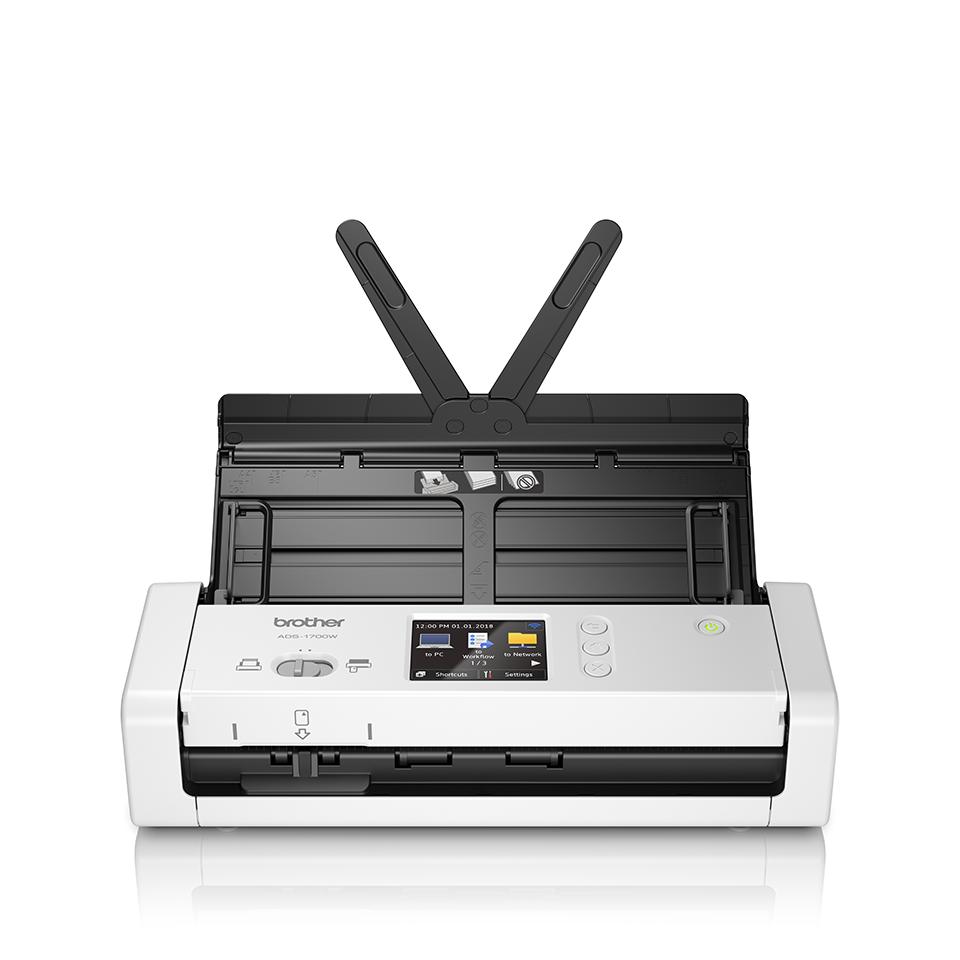 Компактный сканер документов ADS-1700W 5