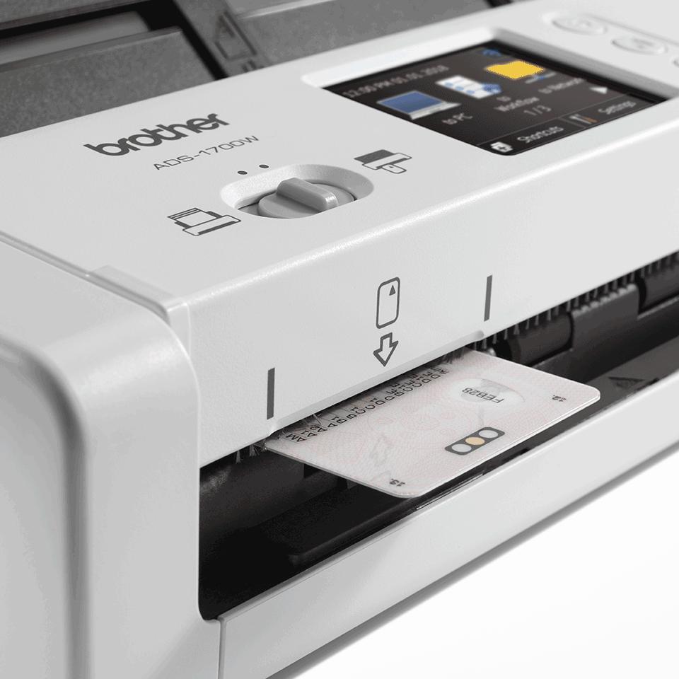 Компактный сканер документов ADS-1700W 7