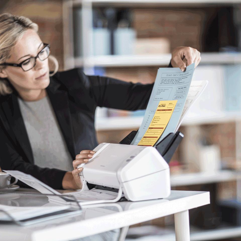 ADS-2200 настольный документ-сканер 8