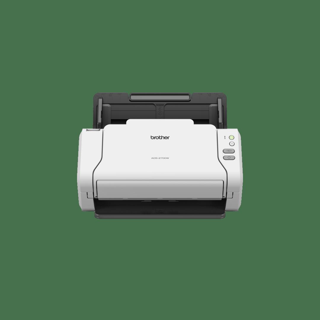Brother ADS-2700W беспроводной сетевой документ-сканер 3