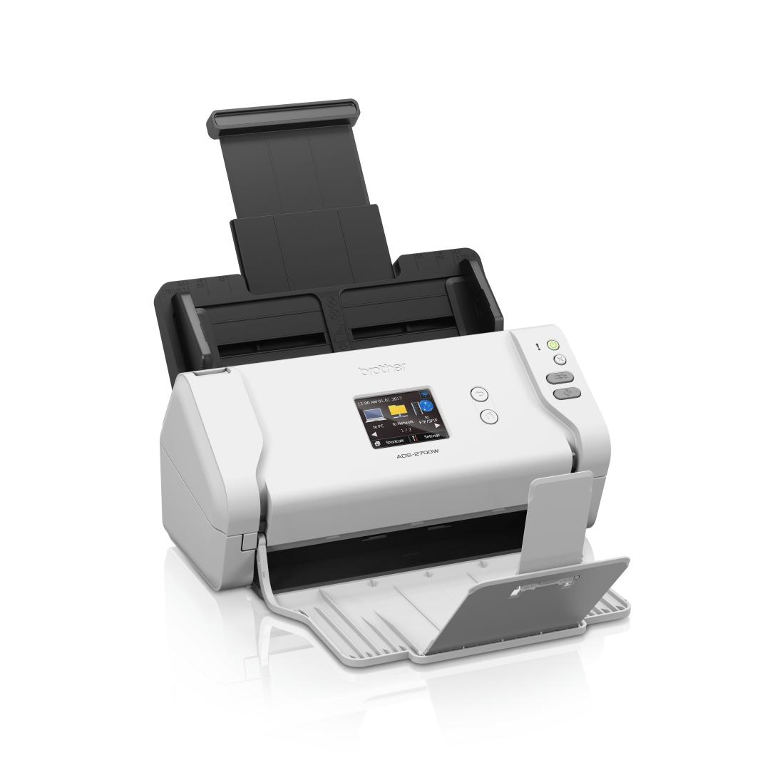 Brother ADS-2700W беспроводной сетевой документ-сканер 2
