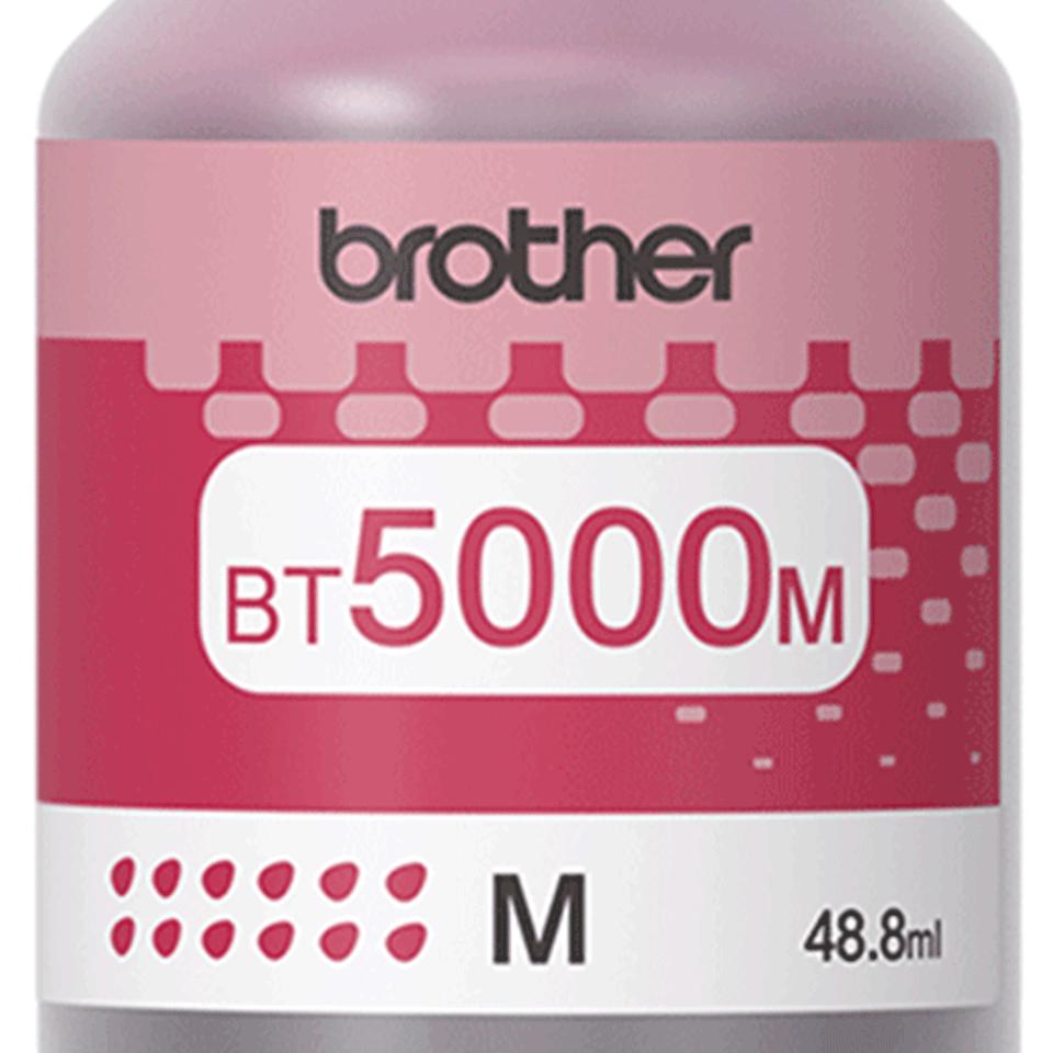 Brother BT5000M: оригинальная бутылка с пурпурными чернилами. 2