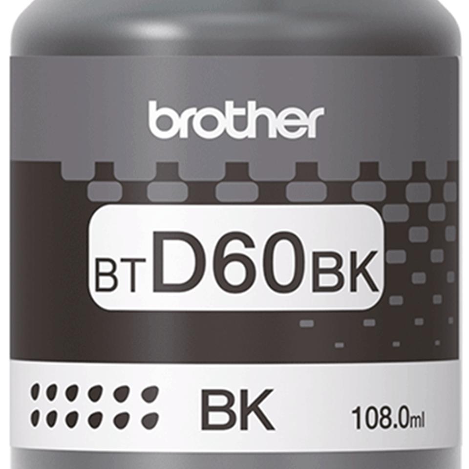 Brother BT-D60BK: оригинальная бутылка ультравысокой  емкости с черными чернилами  для заправки встроенного контейнера печатающего устройства. 3