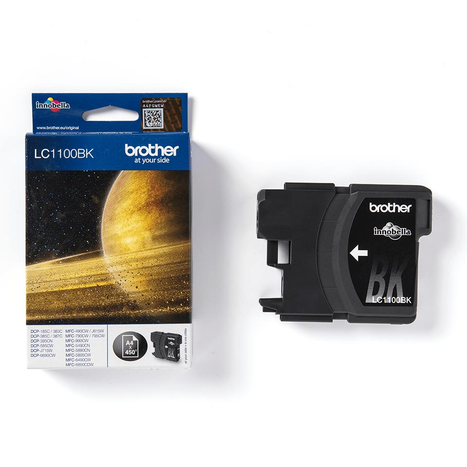 Оригинальный картридж Brother LC1100BK – Черный 2