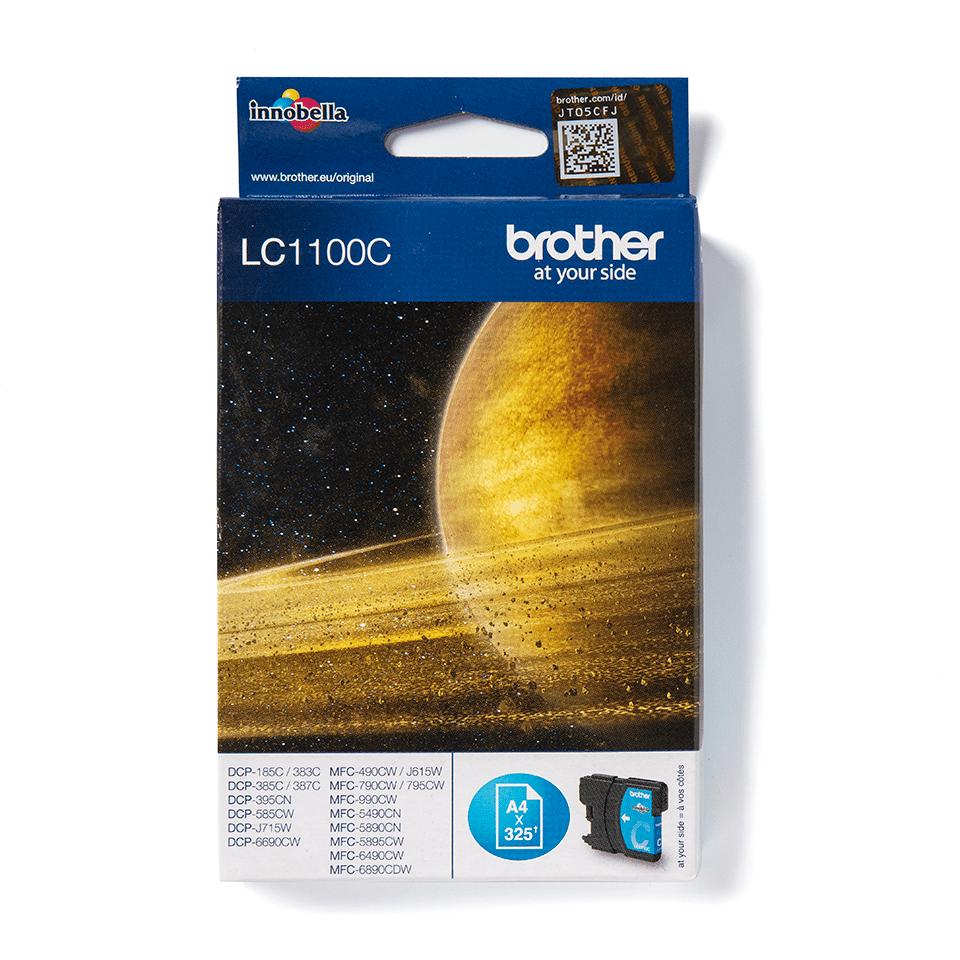 Оригинальный картридж Brother LC1100C – Голубой