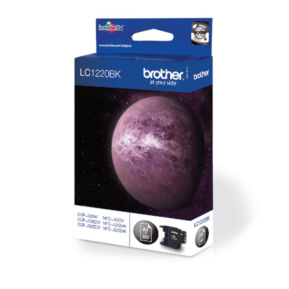 Оригинальный картридж Brother LC1220BK – Черный 2