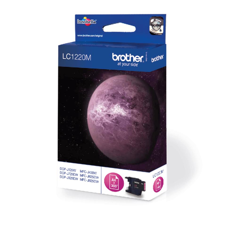 Оригинальный картридж Brother LC1220M – Пурпурный 2