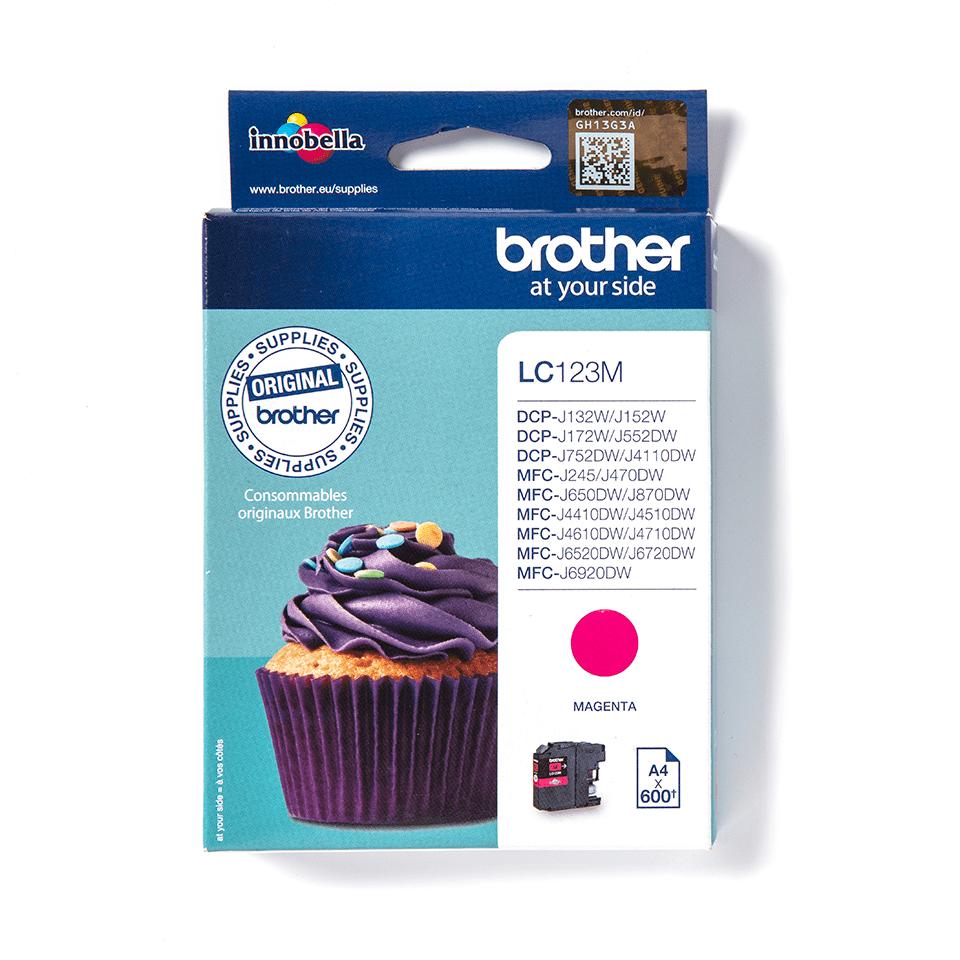 Оригинальный картридж Brother L565XLM– Пурпурный
