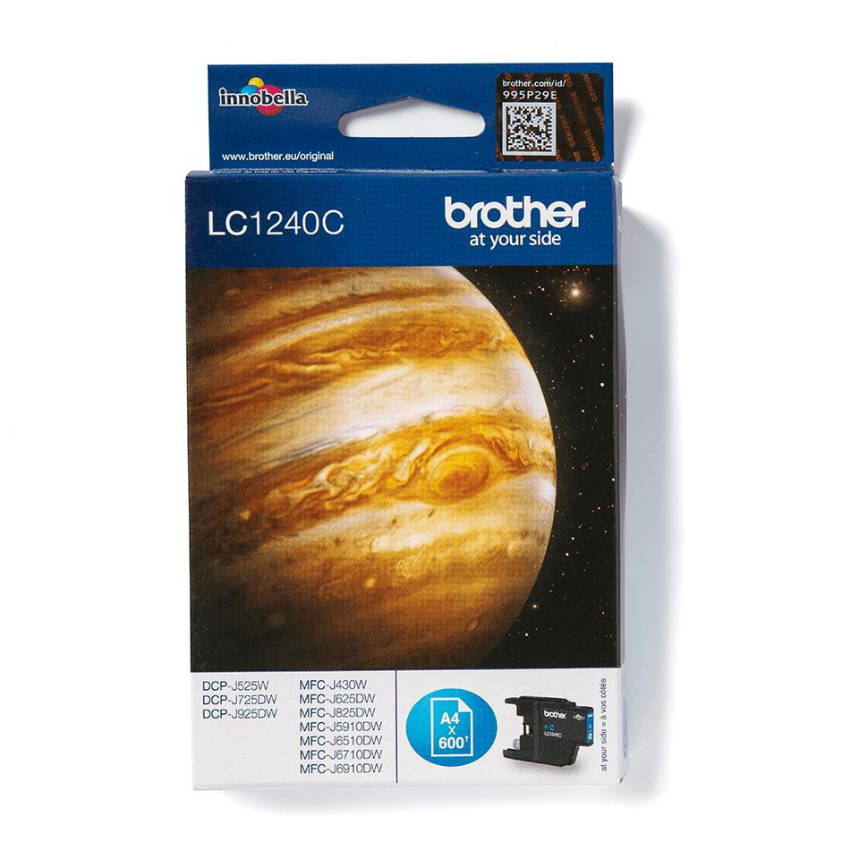 Оригинальный картридж Brother LC1240C – Голубой