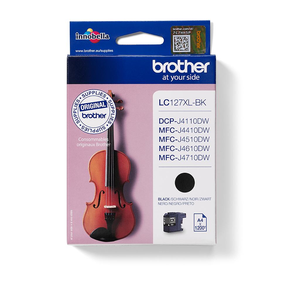Brother LC567XLBK: оригинальный картридж повышенной емкости с черными чернилами.