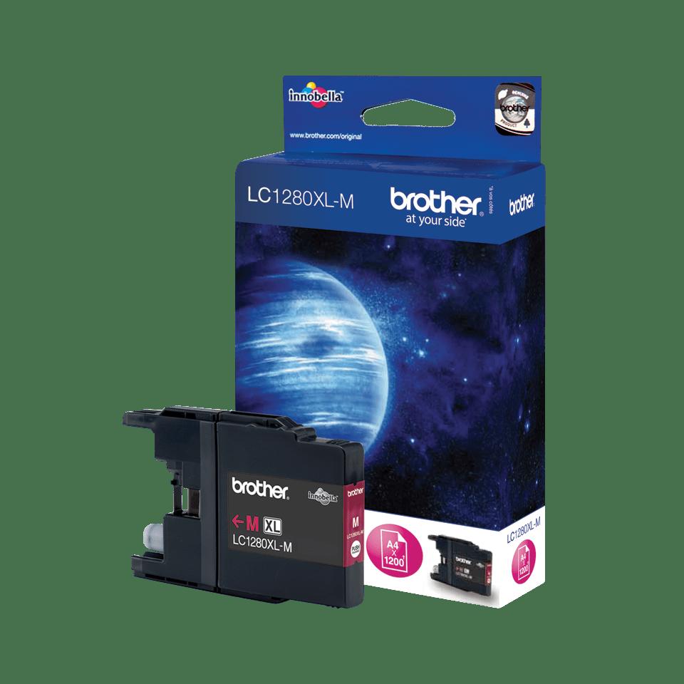 Оригинальный картридж Brother LC1280XLM – Пурпурный 0