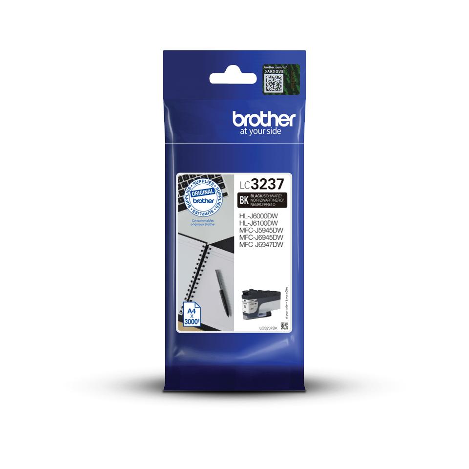 Оригинальный картридж Brother LC3237BK - Черный