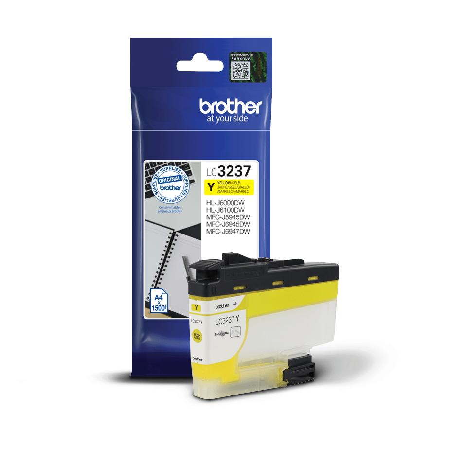 Оригинальный картридж Brother LC3237Y - Желтый 3