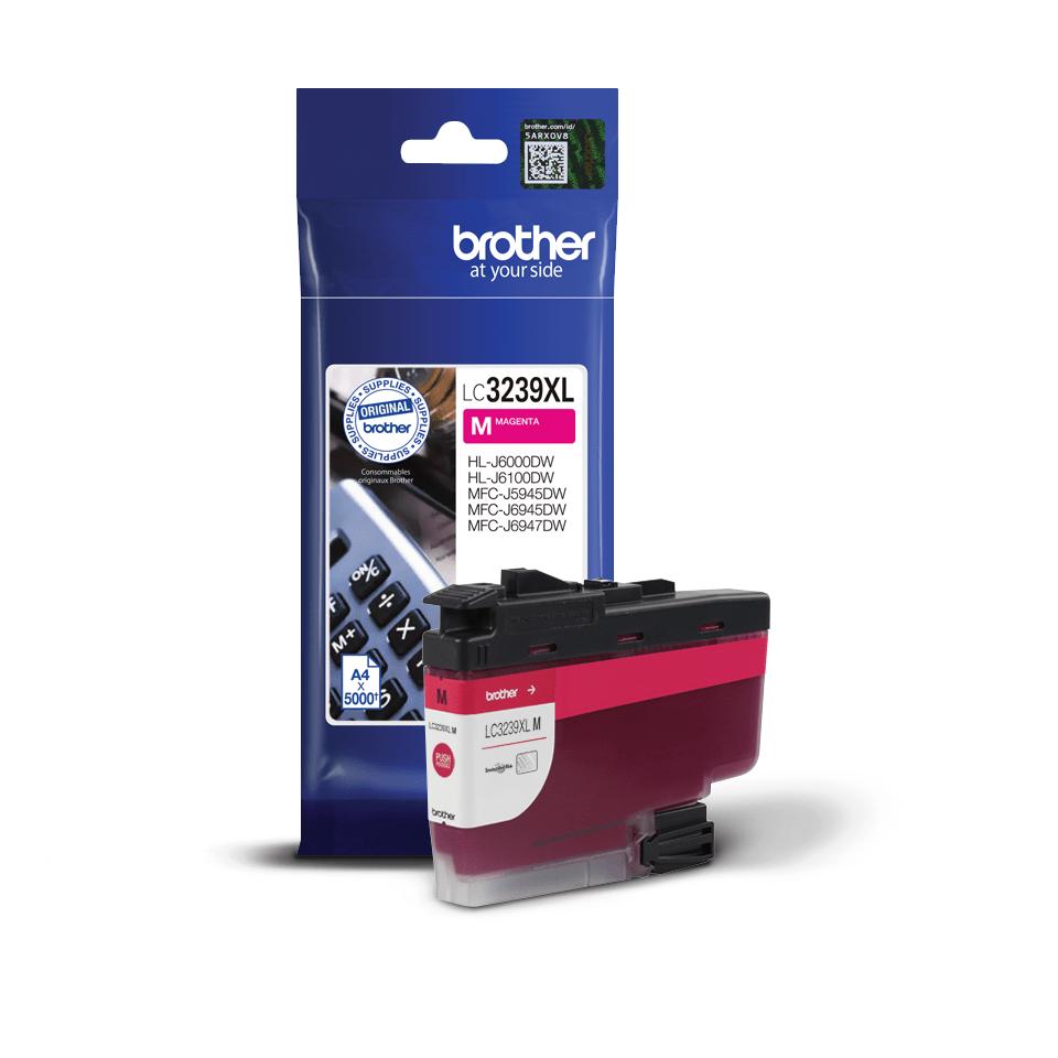 Оригинальный картридж повышенной емкости Brother LC3239XLY - Пурпурный 3