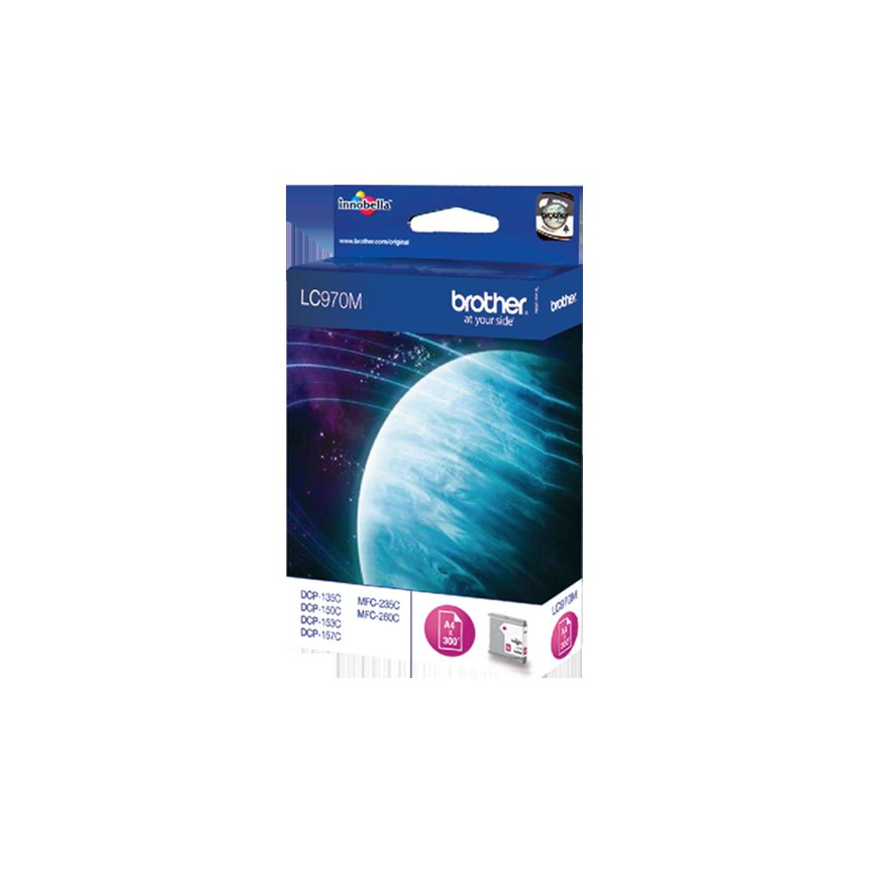 Оригинальный картридж Brother LC970M – Пурпурный 0