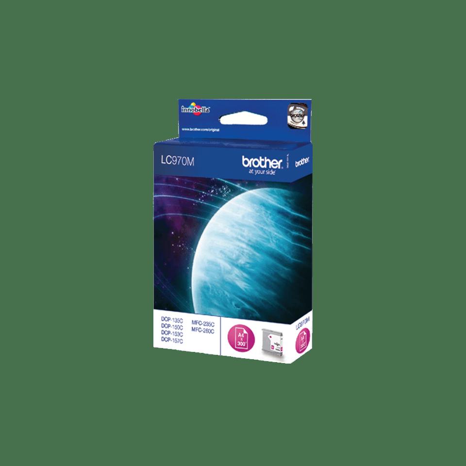 Оригинальный картридж Brother LC970M – Пурпурный