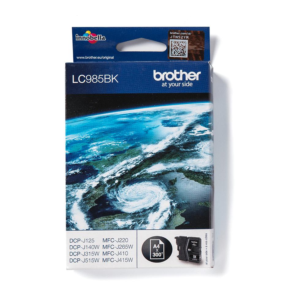 Оригинальный картридж Brother LC985BK - Черный