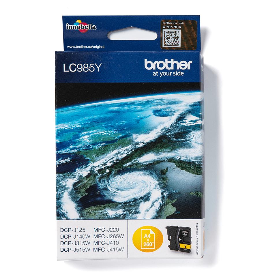 Оригинальный картридж Brother LC985Y – Желтый