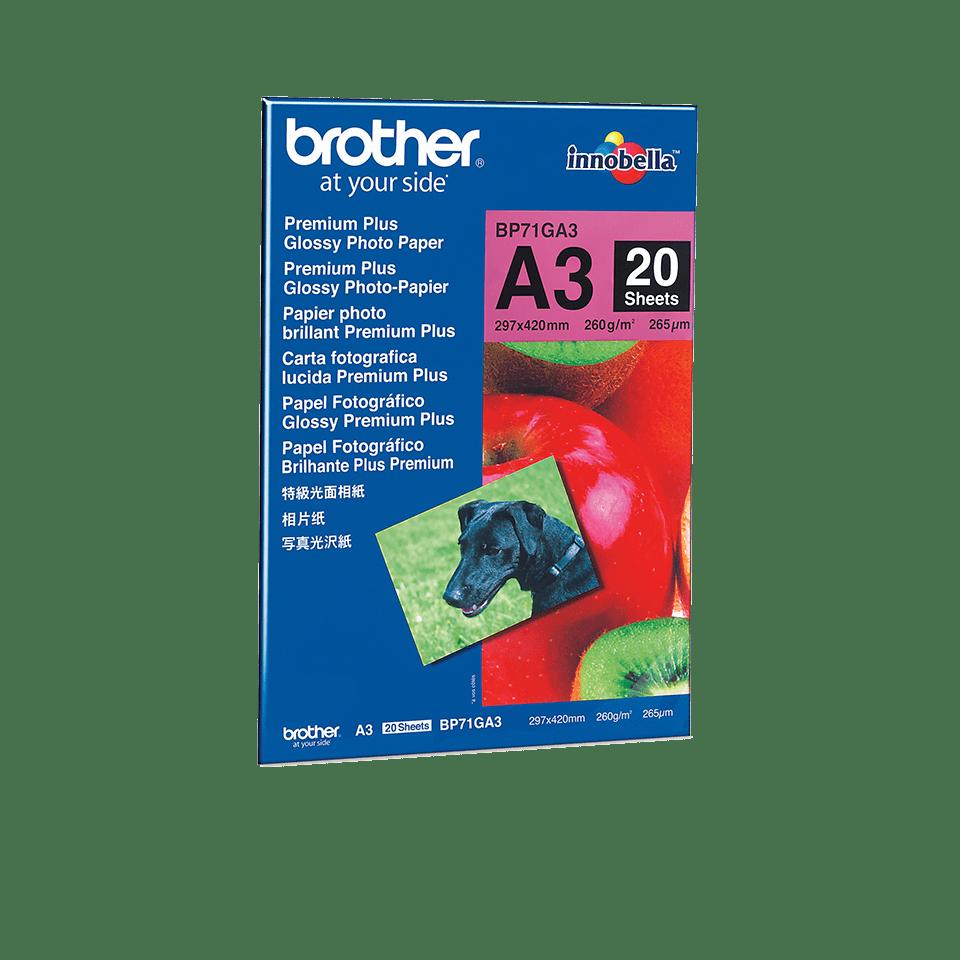 Brother BP71GA3: оригинальная глянцевая фотобумага формата А3.