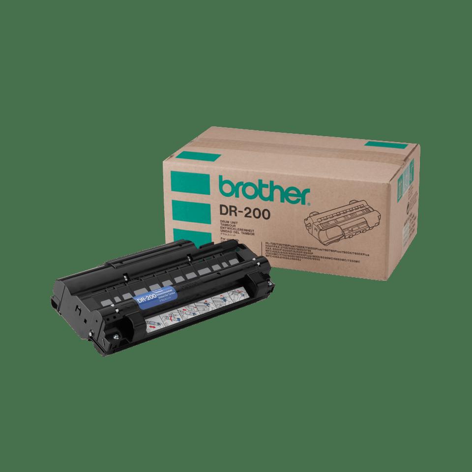Brother DR200: оригинальный блок фотобарабана