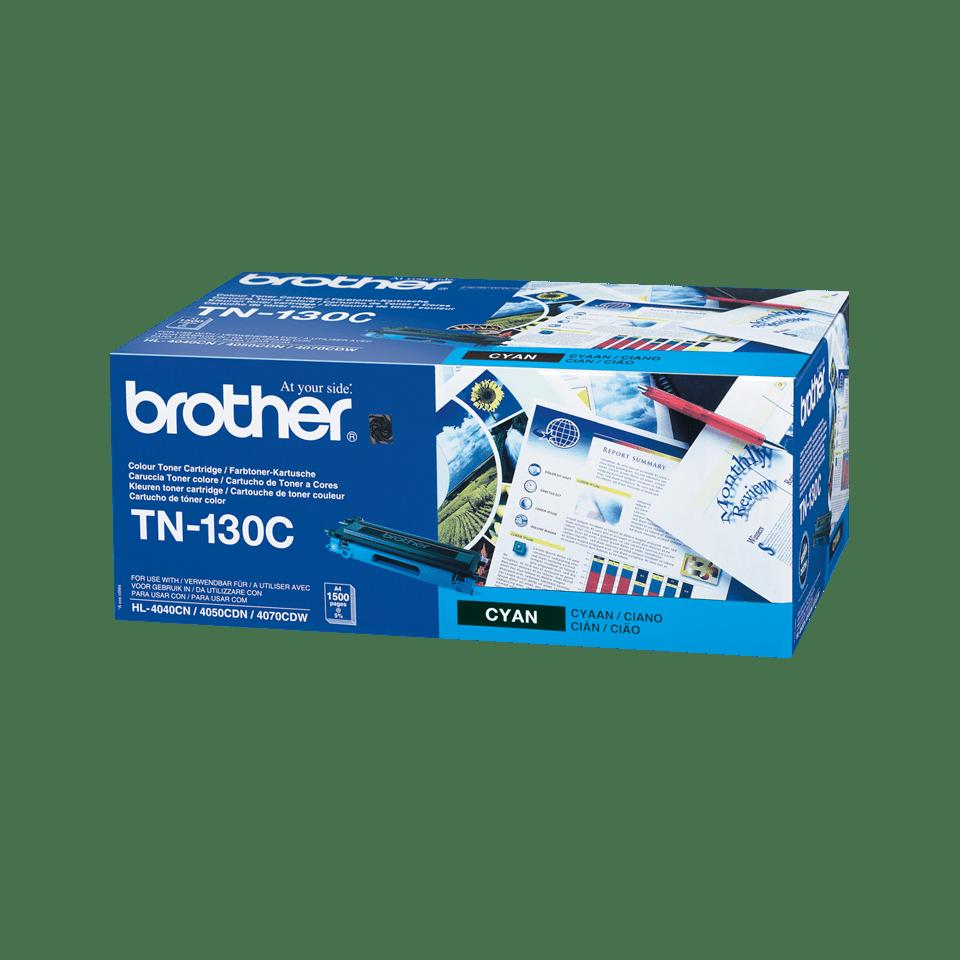 Оригинальный тонер-картридж Brother TN-130С – Голубой 0
