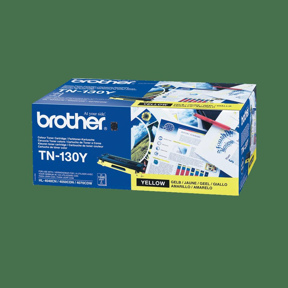 Оригинальный тонер-картридж Brother TN-130Y – Желтый