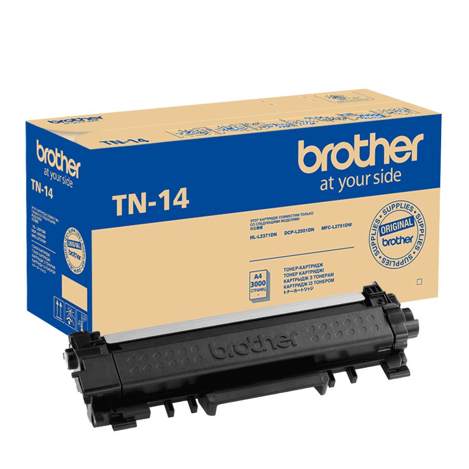 Оригинальный тонер-картридж Brother TN-14