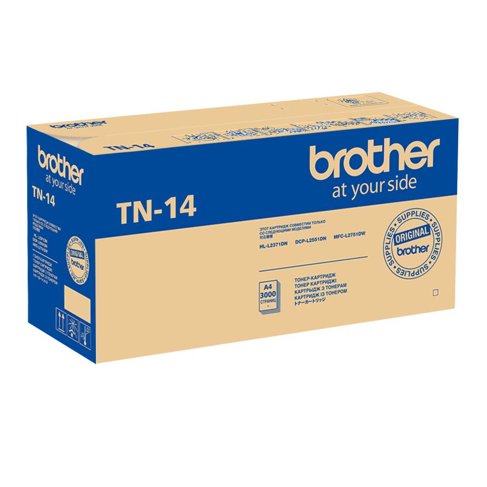 Оригинальный тонер-картридж Brother TN-14 2