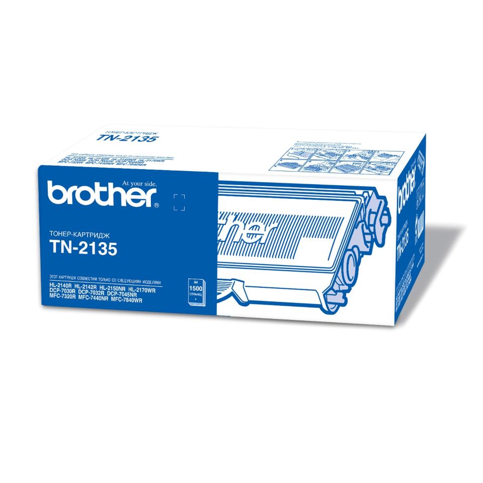 Оригинальный тонер-картридж Brother TN-2135