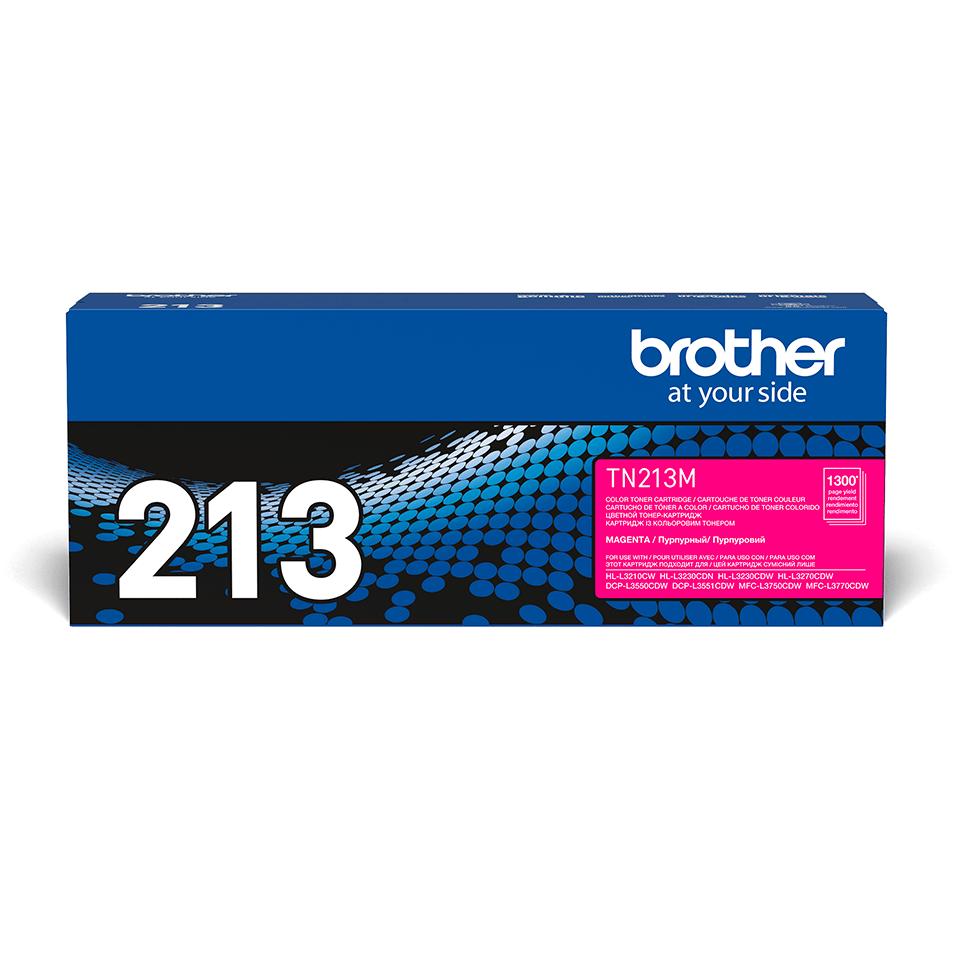 Оригинальный Brother TN213M тонер картридж – пурпурный