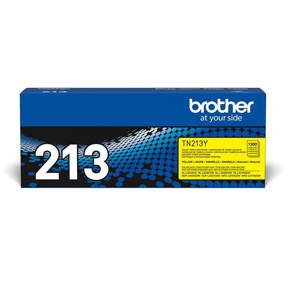 Оригинальный Brother TN213Y тонер картридж- желтый 2